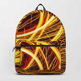 SEE YOU THROUGH THE FLAMES Backpack