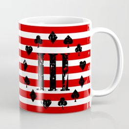 Three Percenter Aces USA Flag Coffee Mug