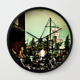 The rides of Millet Wall Clock