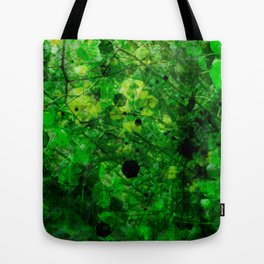 The adventure of green - 2 - psychedelic tropic Tote Bag