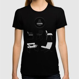 CHAIRS - A tribute to seats (special edition) T-shirt