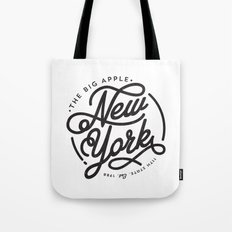 New York - White Tote Bag