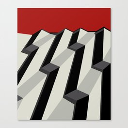 MARCHING Canvas Print