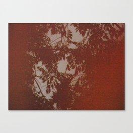 ORANGE FILM Canvas Print