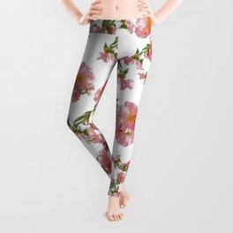 Pretty Vintage Florals Leggings