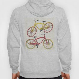 Illustration Bicycle Low Poly Style Hoody