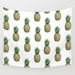 Classic Pineapple Pattern Wall Tapestry