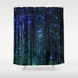 Magical Woodland Shower Curtain