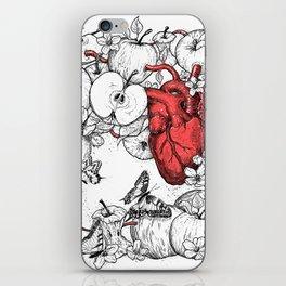 coronary apples iPhone Skin