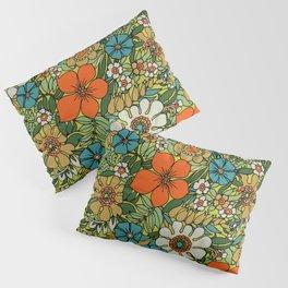 70s Plate Pillow Sham