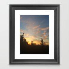 New Horizon Framed Art Print