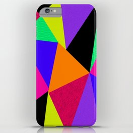 GeometricX iPhone Case