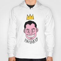 moriarty Hoodies featuring Moriarty by Hypermeganeko