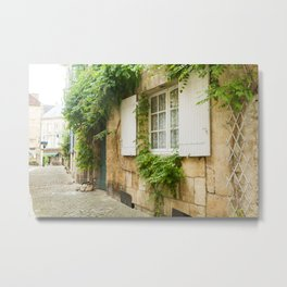 French Country Charm Metal Print