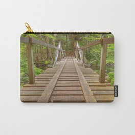 Forest Track Bridge Carry-All Pouch