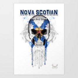 To The Core Collection: Nova Scotia Art Print