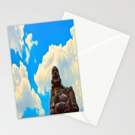 Happy Buddha on a Beautiful Day Stationery Cards