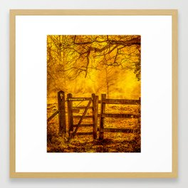Gateway to Nowhere Framed Art Print