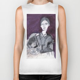 Emily Dickinson Biker Tank