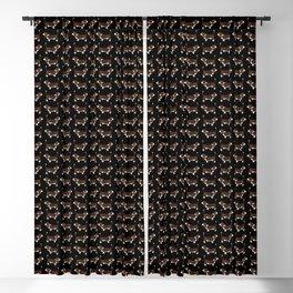 Basset Hounds Blackout Curtain