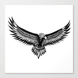 Wild eagle ecopop Canvas Print
