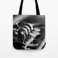 trumpet Tote Bags featuring Trumpet by Falko Follert Art-FF77