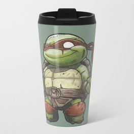 TMNT Metal Travel Mug