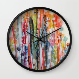 petit jardin 1 Wall Clock