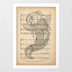 Koi... Art Print