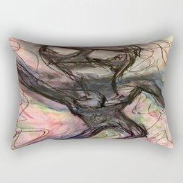 A Flippant Cascade. Rectangular Pillow