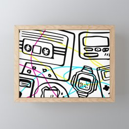 Child of the '90s Framed Mini Art Print