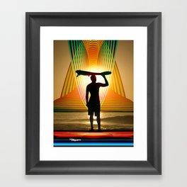Rego Industries Wave Dreamer Framed Art Print