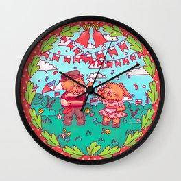 Cueca 18 de Septiembre Wall Clock
