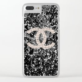 Fantastic-124 Clear iPhone Case