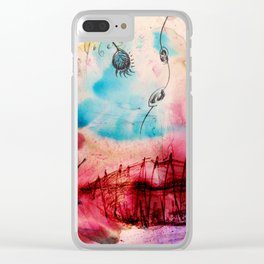A Vernal Planet Clear iPhone Case