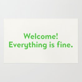 Good Place Welcome Rug