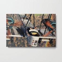Vickers Vimy II Metal Print