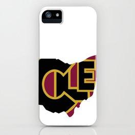 CLE, Ohio iPhone Case
