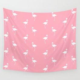 Flamingos Pattern Wall Tapestry