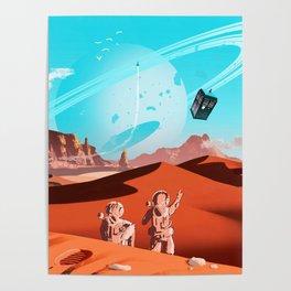 tardis space Poster