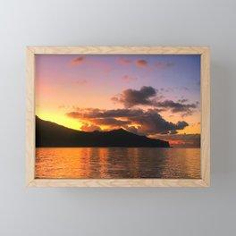 Fijian Island Framed Mini Art Print
