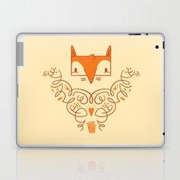 Ornate Fox Laptop & iPad Skin