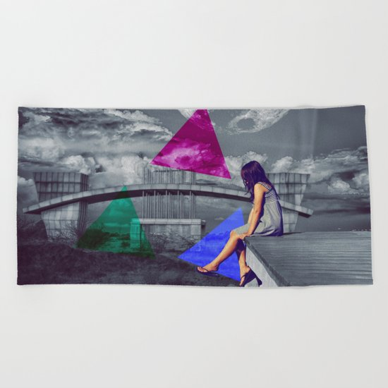 Knowledge Beach Towel