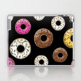 Funfetti Donuts - Black Laptop & iPad Skin