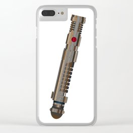 Old Light Sword Weapon Clear iPhone Case