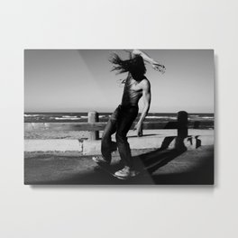 THE ART OF SURF Metal Print