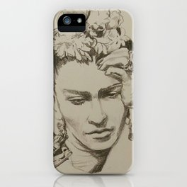 Master of Unfinished Sketches 01 iPhone Case
