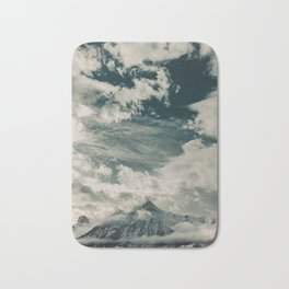 Cloud Mountain in the Canadian Wilderness Bath Mat