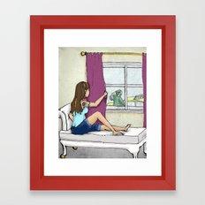 Stop Lost Framed Art Print
