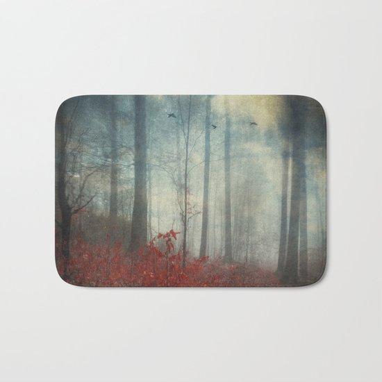 open woodland dreams Bath Mat